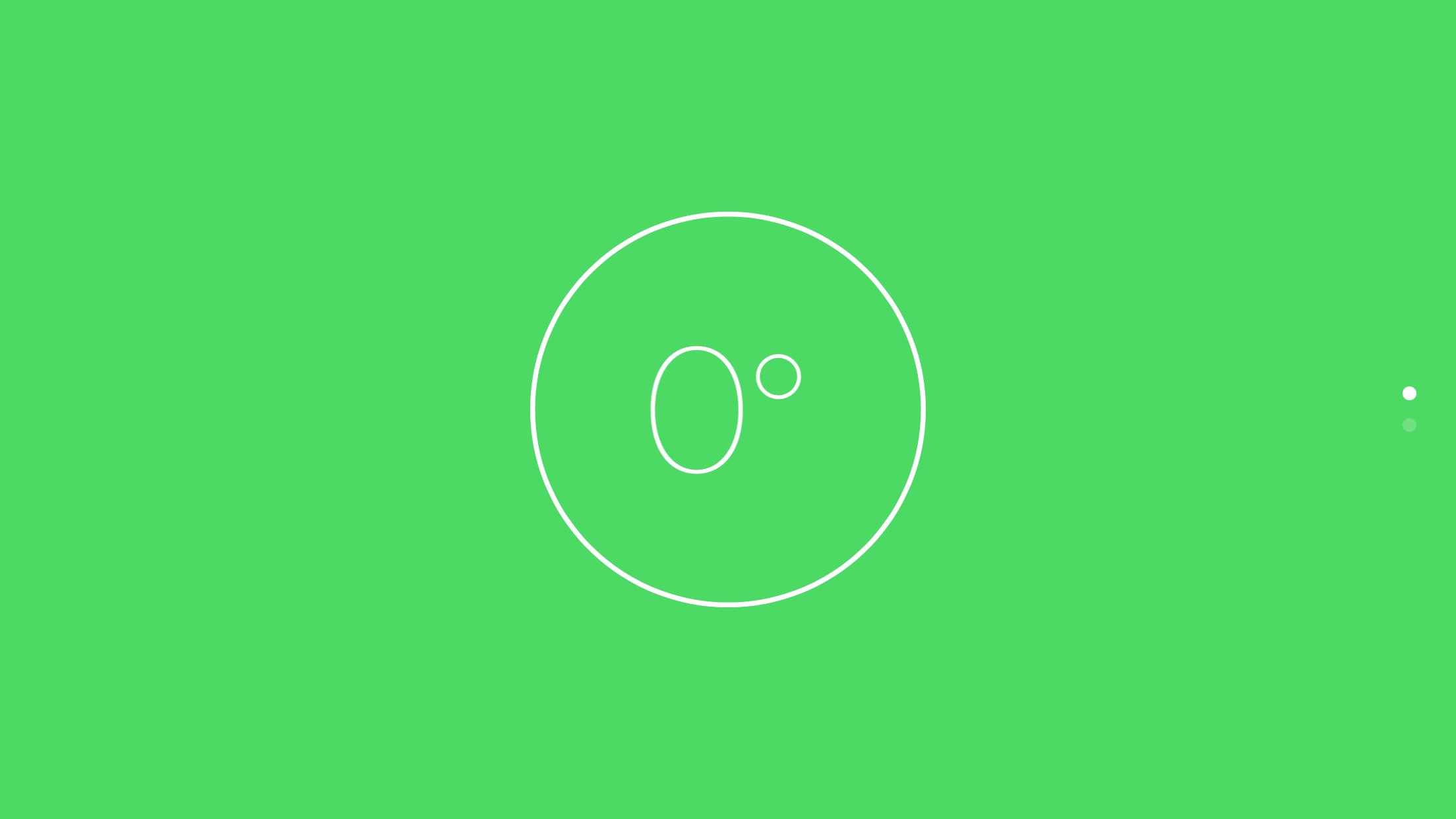 green level spot on