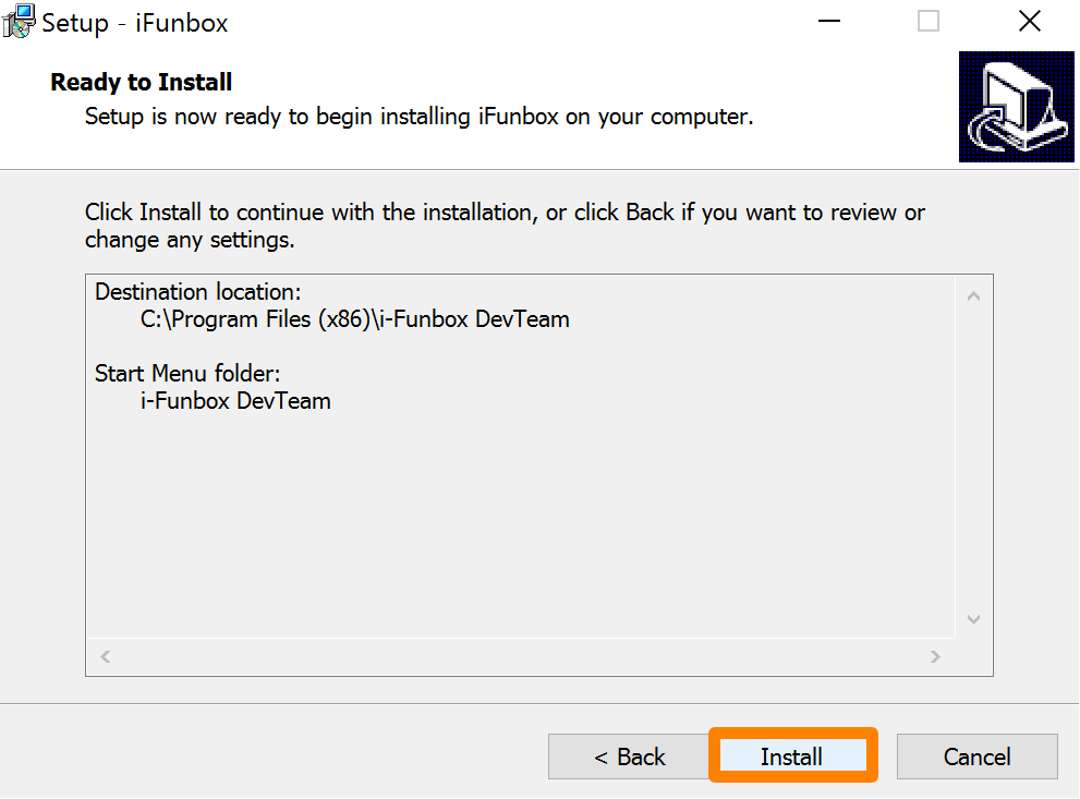 iFunbox Install