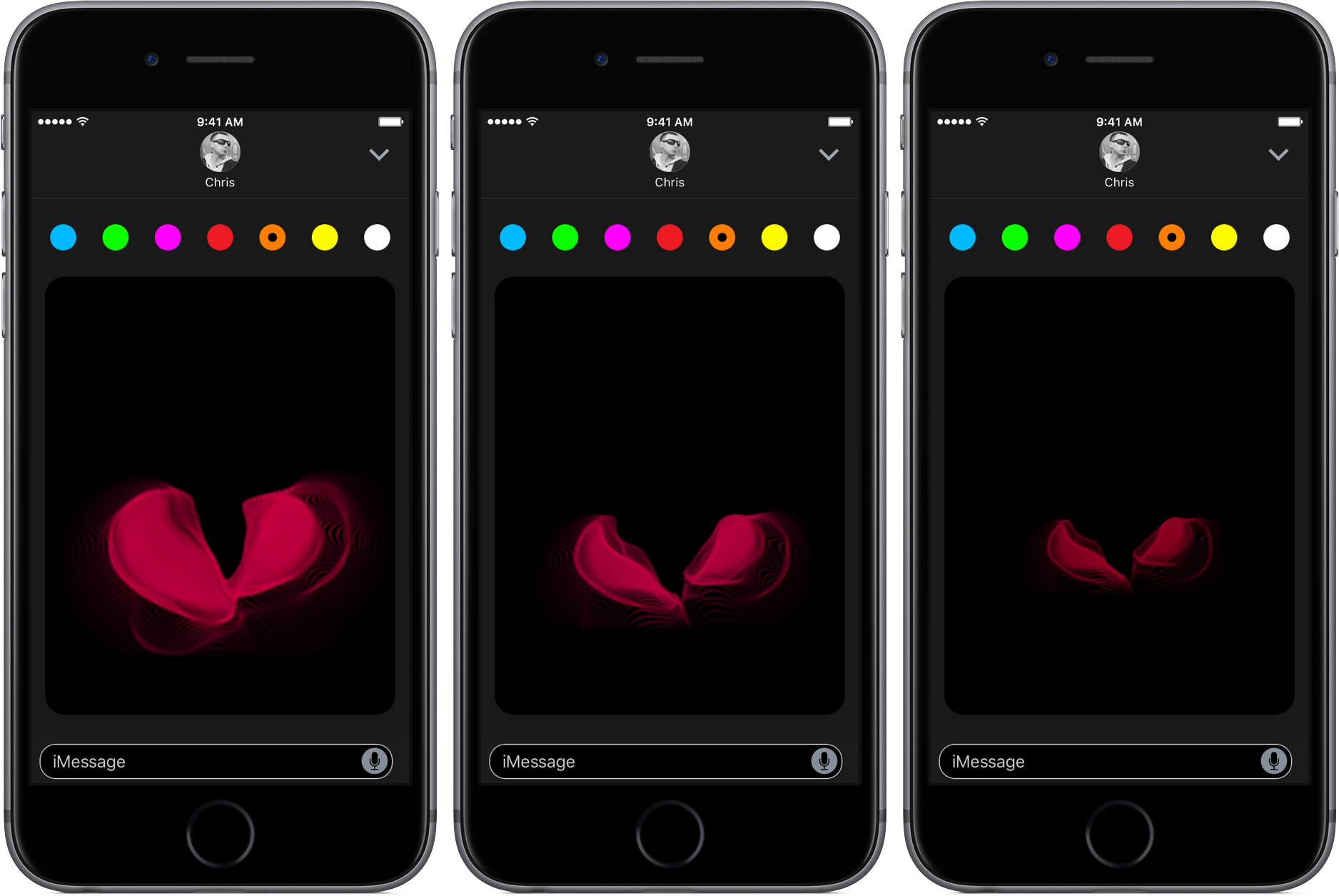 iOS 10 tidbit: sending broken hearts via iMessage