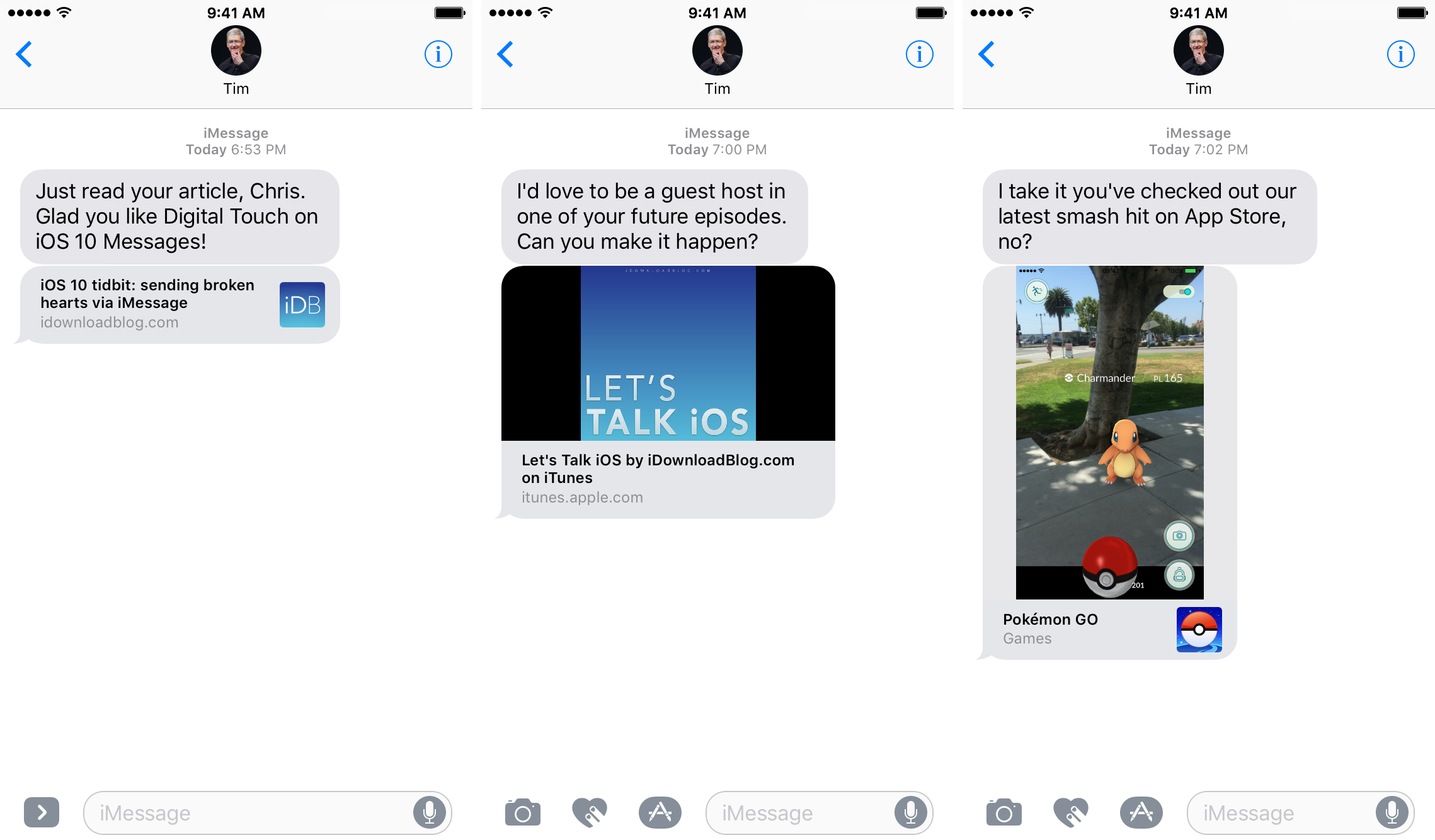 iOS 10 Messages Spotlight Suggestions Safari iTunes App Store iPhone screenshot 001