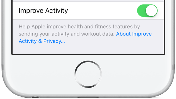 iOS 10 beta 3 Settings Improve Activity silver iPhone screenshot 001