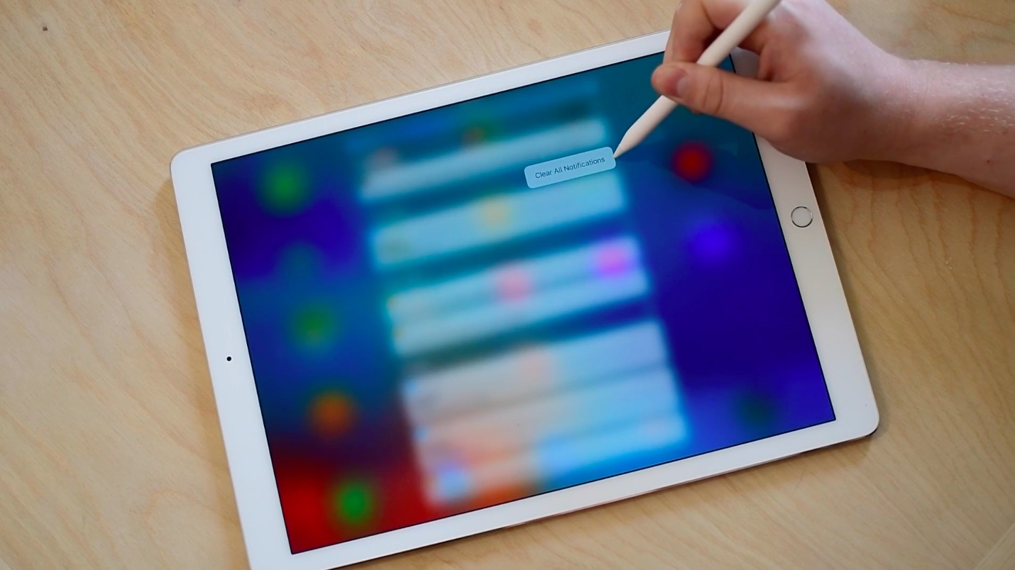 iPad Pro 3D Touch with Apple Pencil image 002