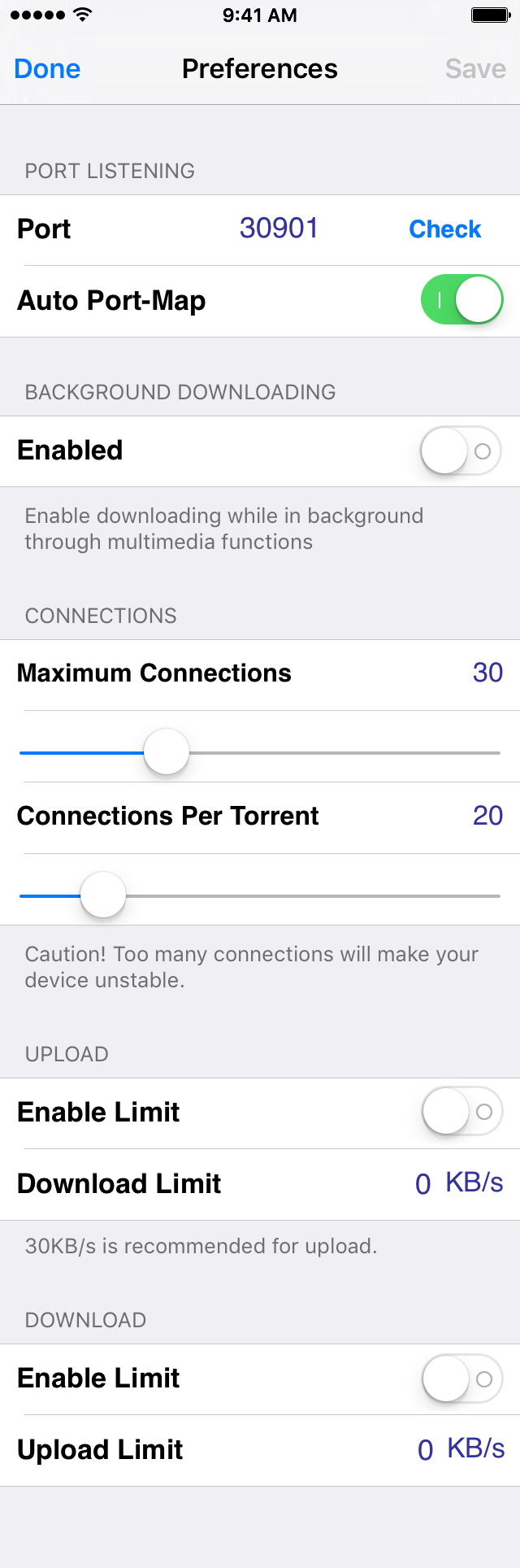 iTransmission 5 launches in Cydia, enables Bittorrent