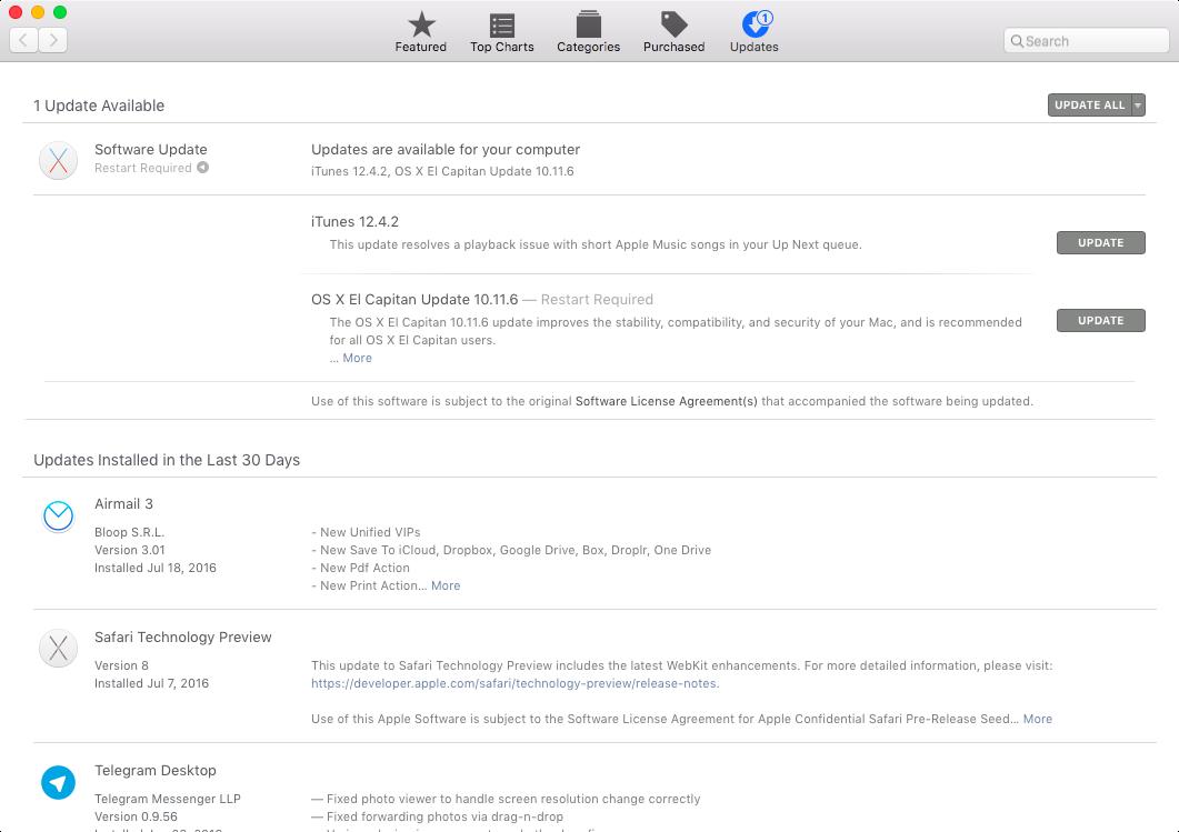 itunes 12.4.2 update prompt