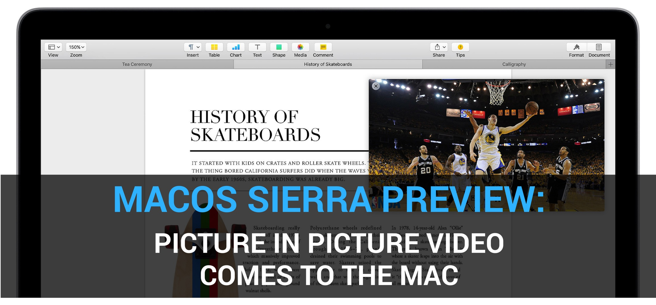 macOS Sierra Picture in Picture teaser 001