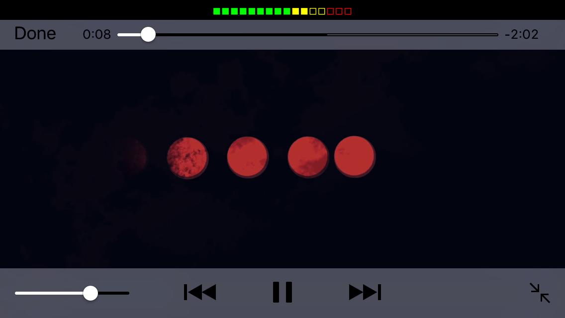 Amalthea Status Bar Volume iOS