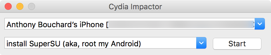 Cydia Impactor Mac iPhone
