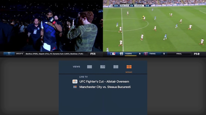 Fox Sports Go for tvOS Apple TV screenshot 001