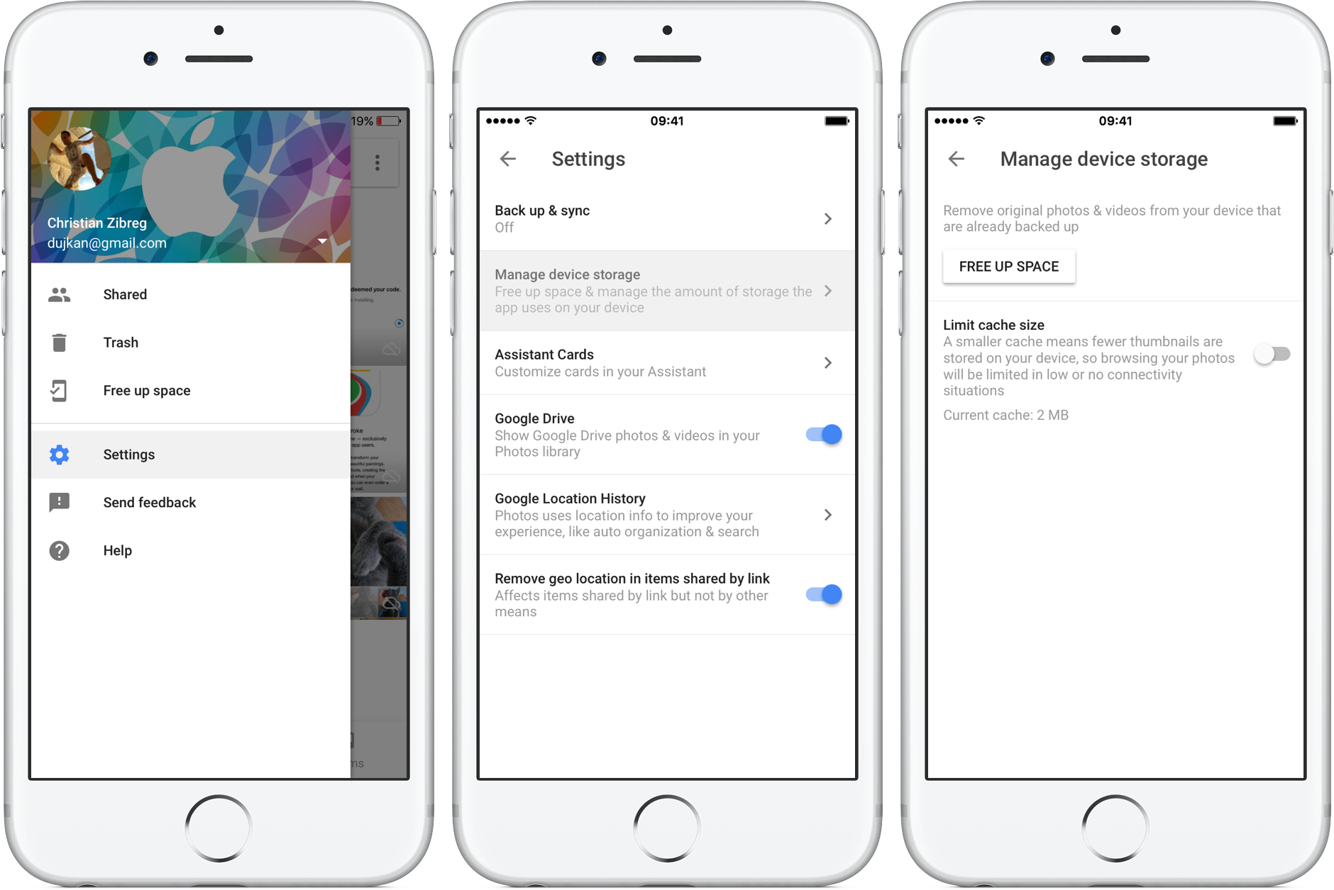 Google Photos 1.13 for iOS iPhone screenshot 002