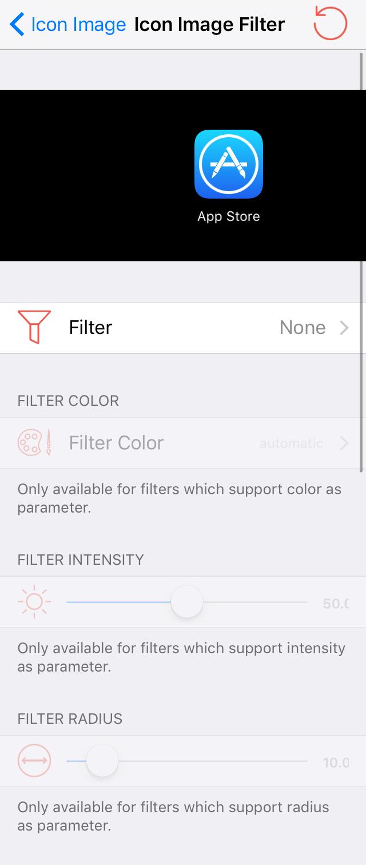 Iconize Icon Image Filter