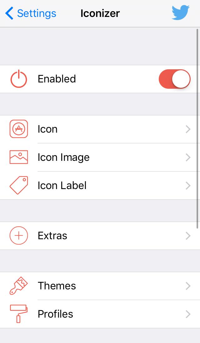 Iconizer Preferences Pane