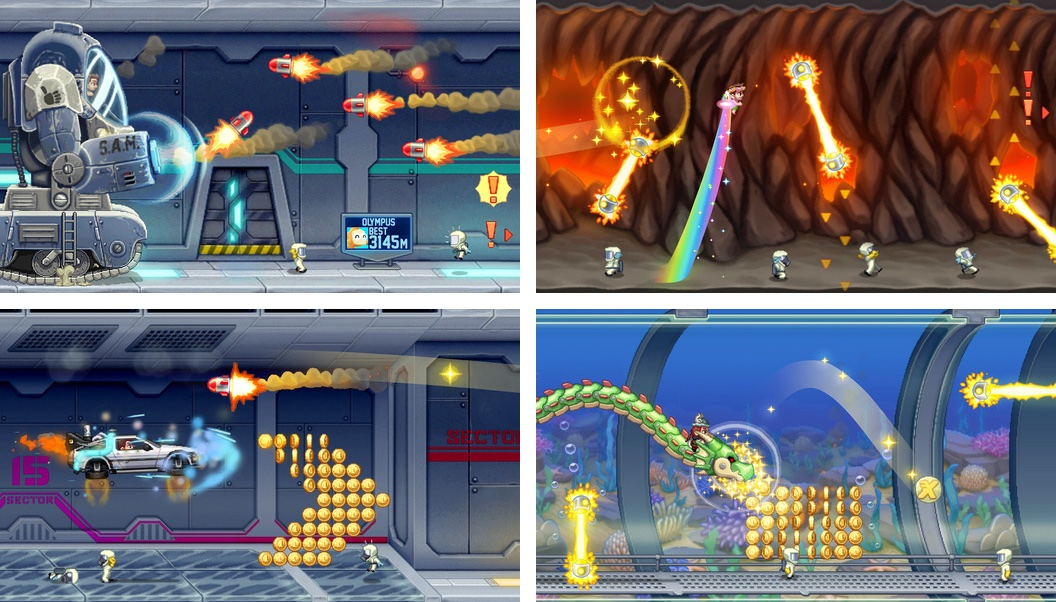 Jetpack Joyride 1.9.9 for iOS iPhone screenshot 001