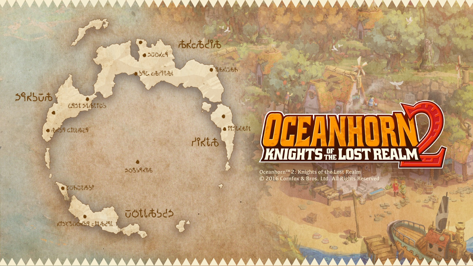 Oceanhorn 2 Worldmap 001