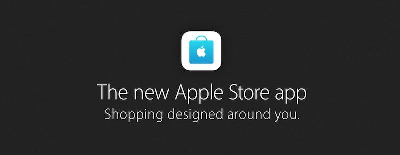 Overhauled Apple Store app App Store banner 002