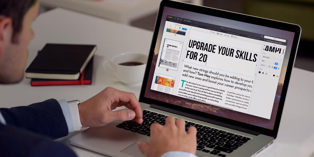 PDF Expert 2 para el avance de Mac 001