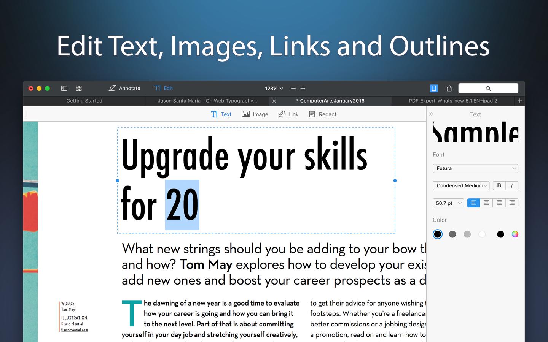 PDF Expert 2 para el avance de Mac 003