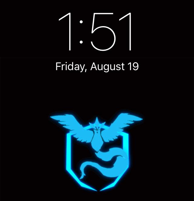 Pokemon team themed Lock screen