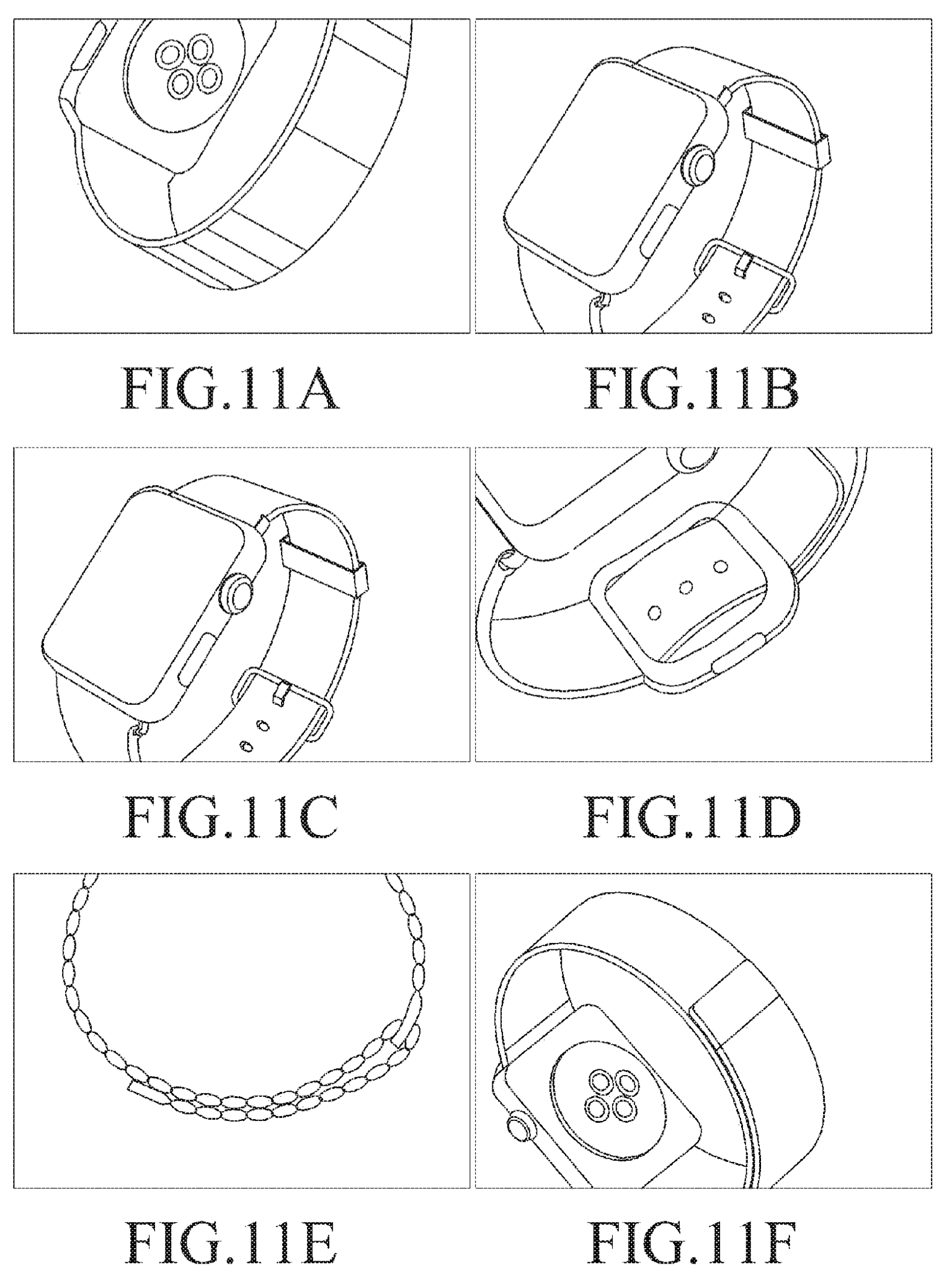 Samsung Wearable Device patent filing Apple Watch drawings 001