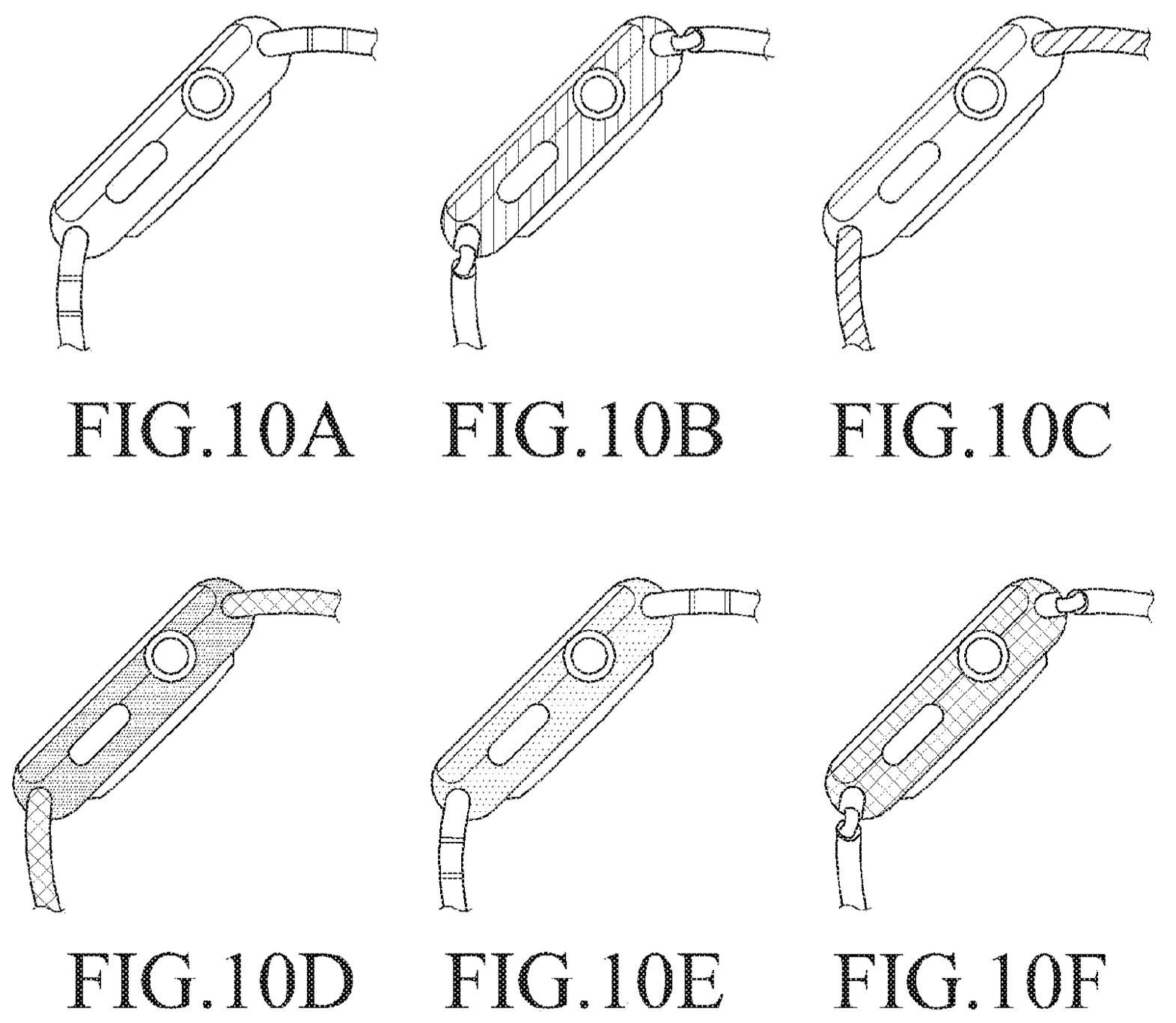 Samsung Wearable Device patent filing Apple Watch drawings 002