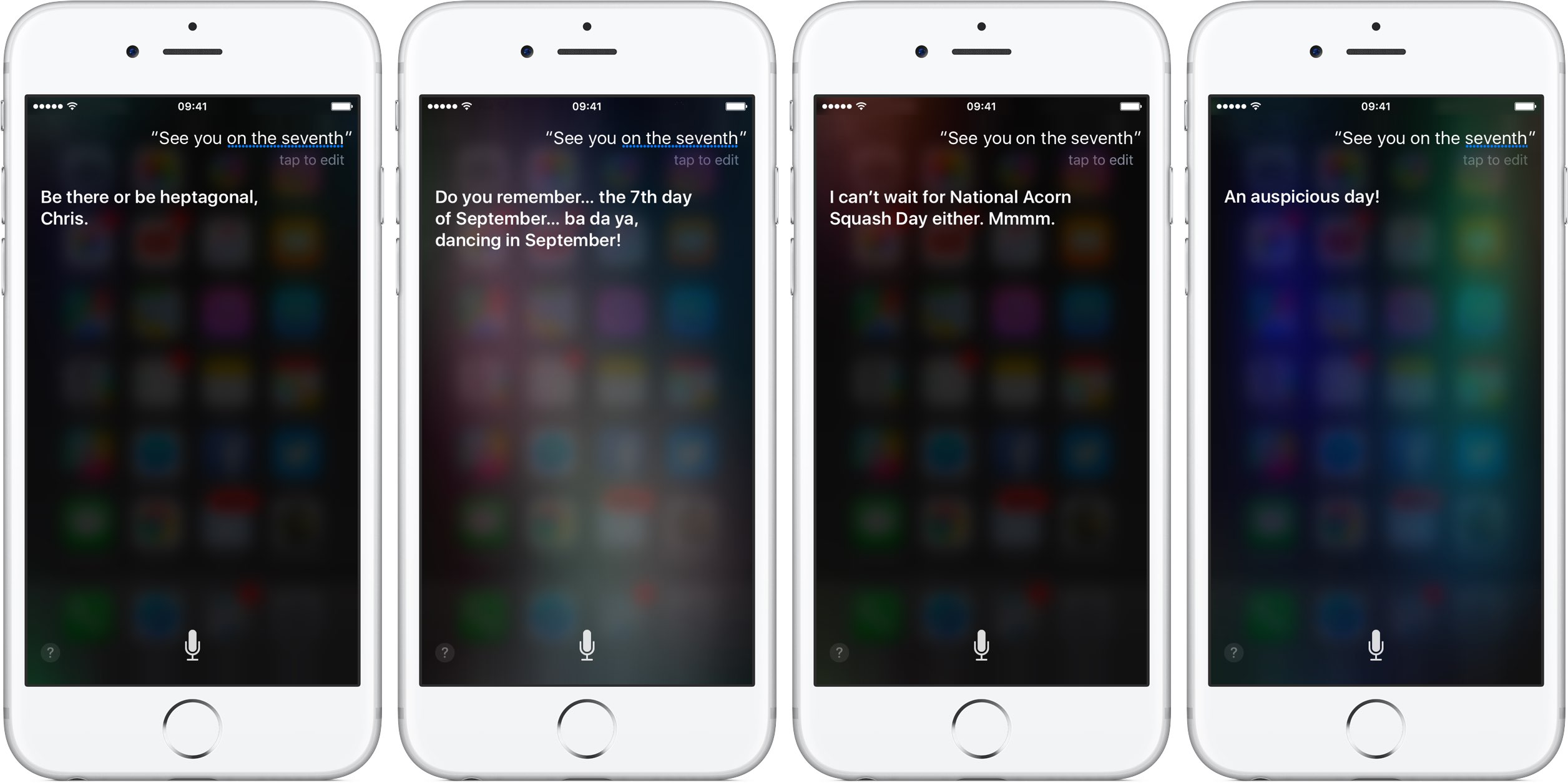 Siri iPhone 7 event responses silver iPhone screenshot 002