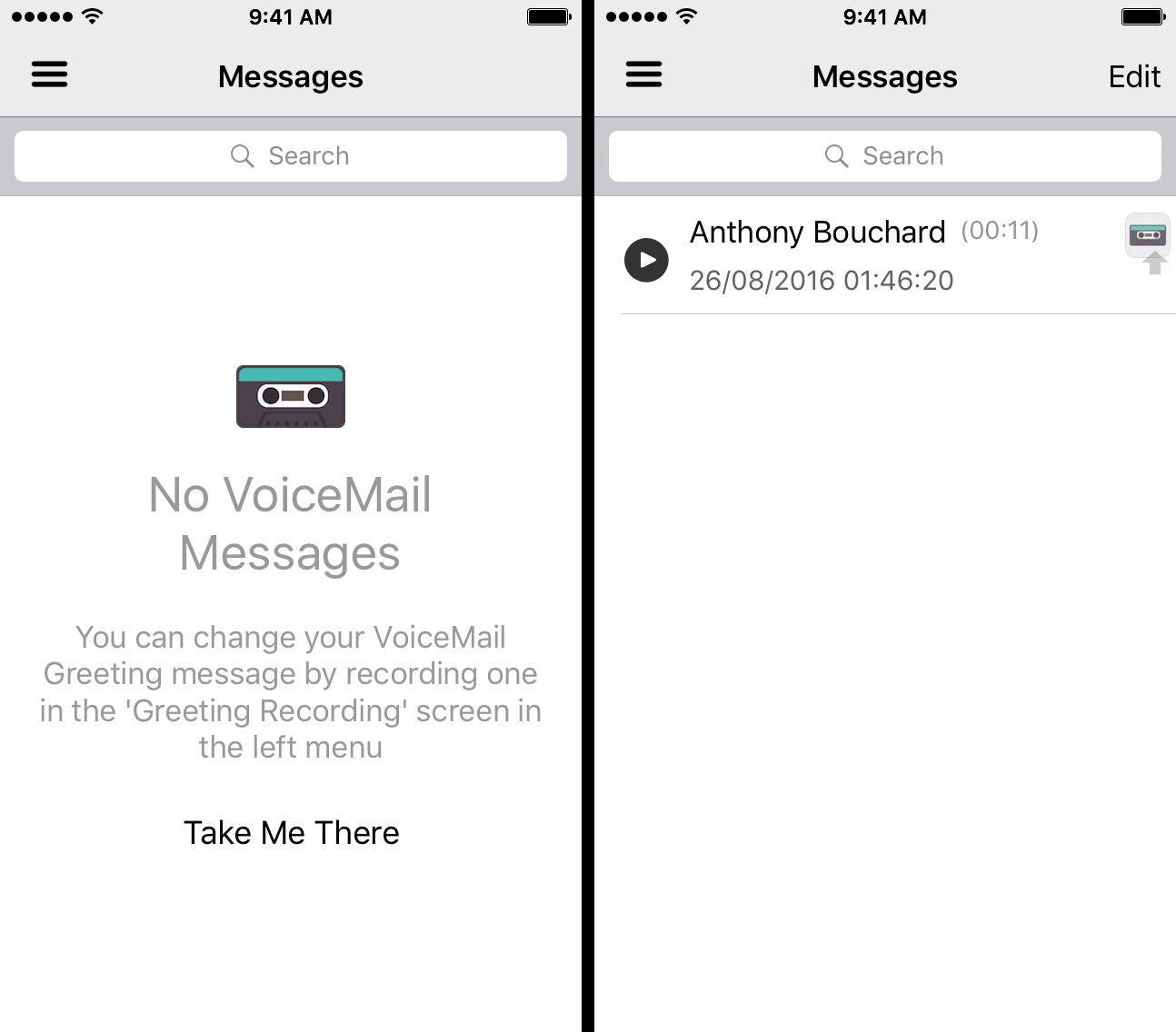 Super VoiceMail App