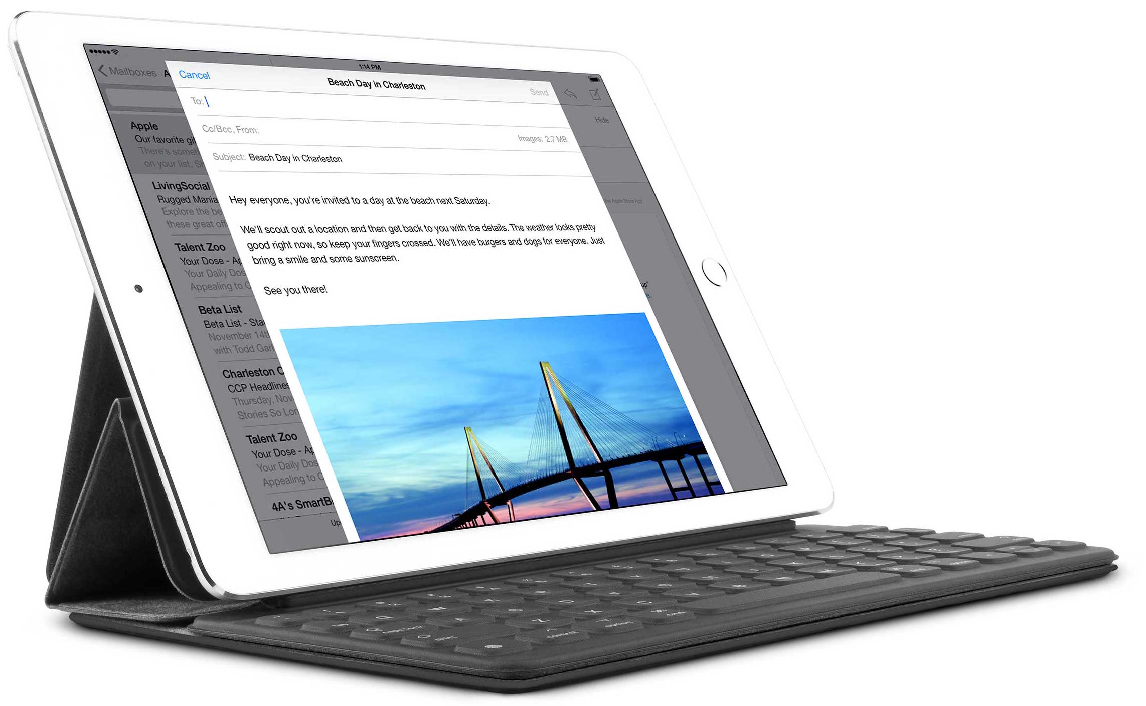 SurfacePad for iPad Pro with Smart Keyboard teaser 001