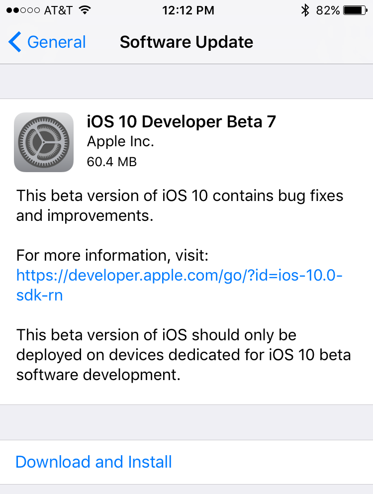 beta 7
