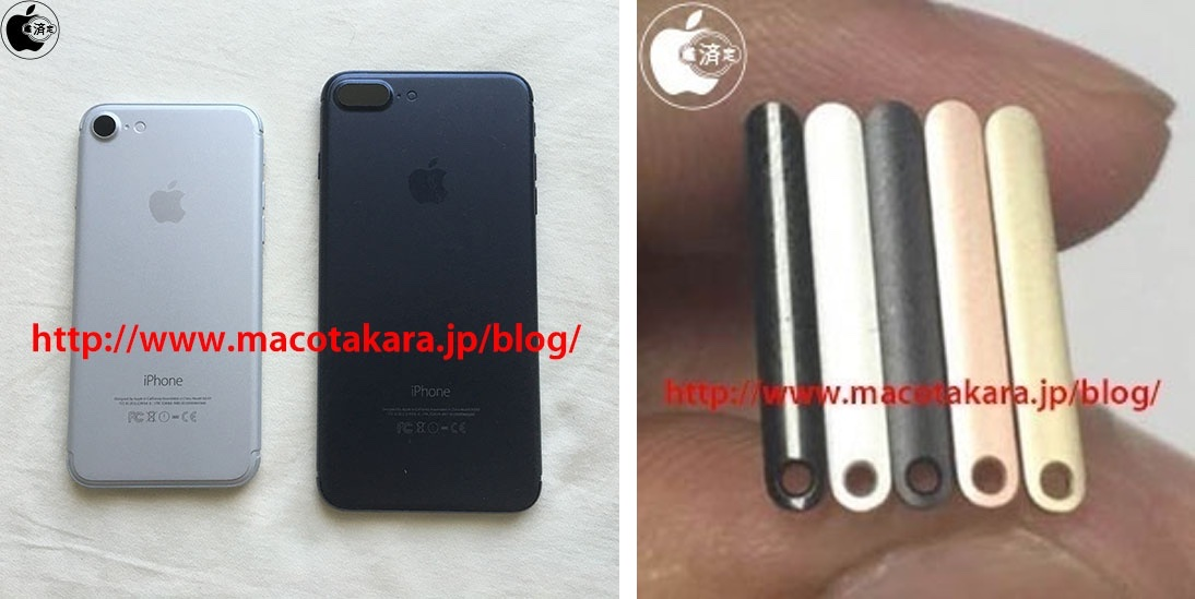 iPhone 7 sim tray Gloss Black