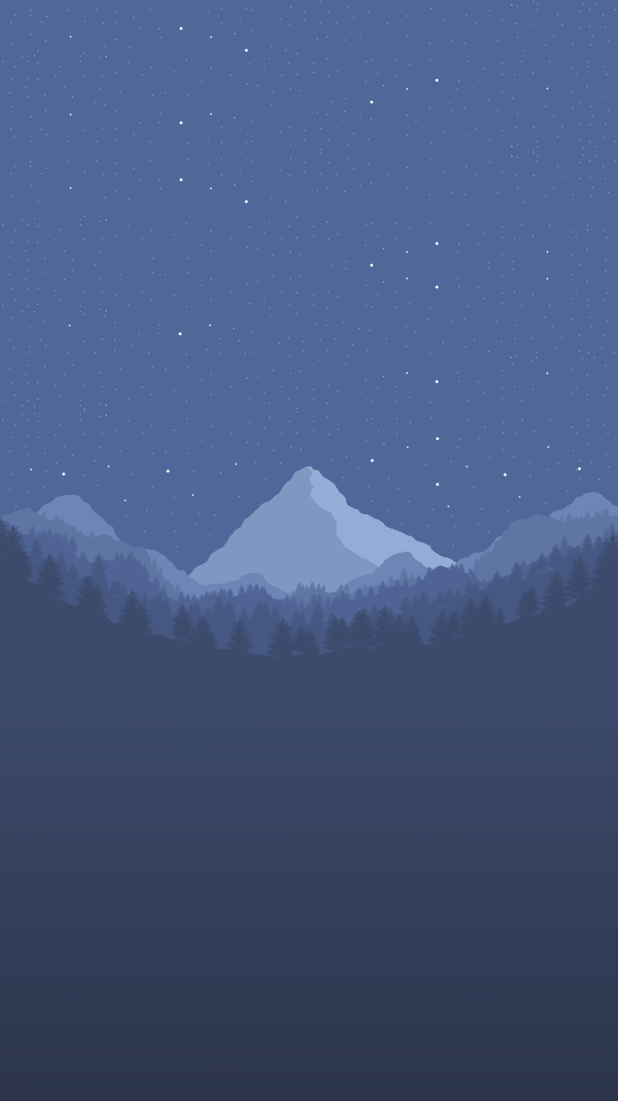 night iPhone Wallpaper by StijnDV
