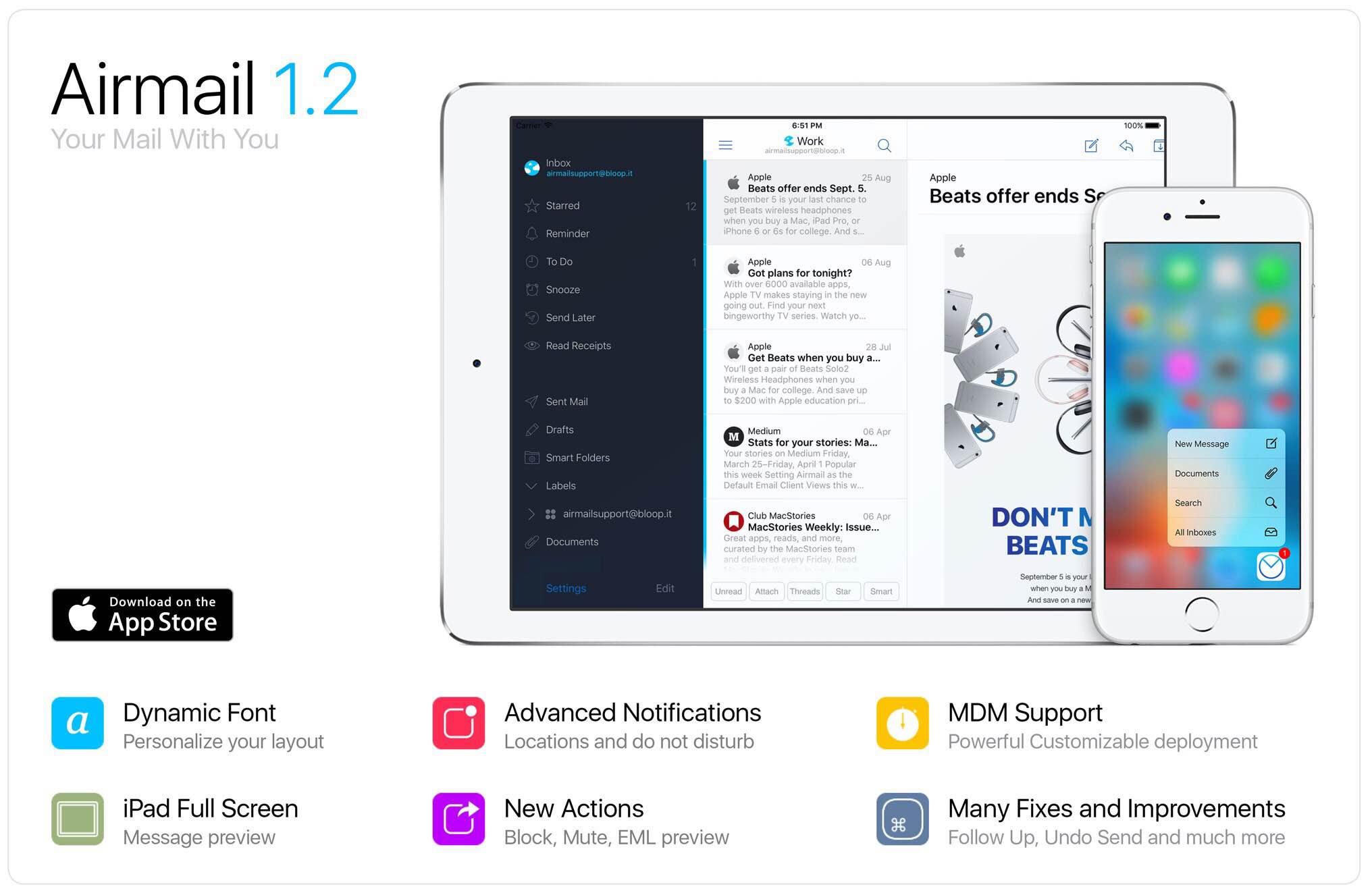Airmail 1.2 for iOS teaser 001