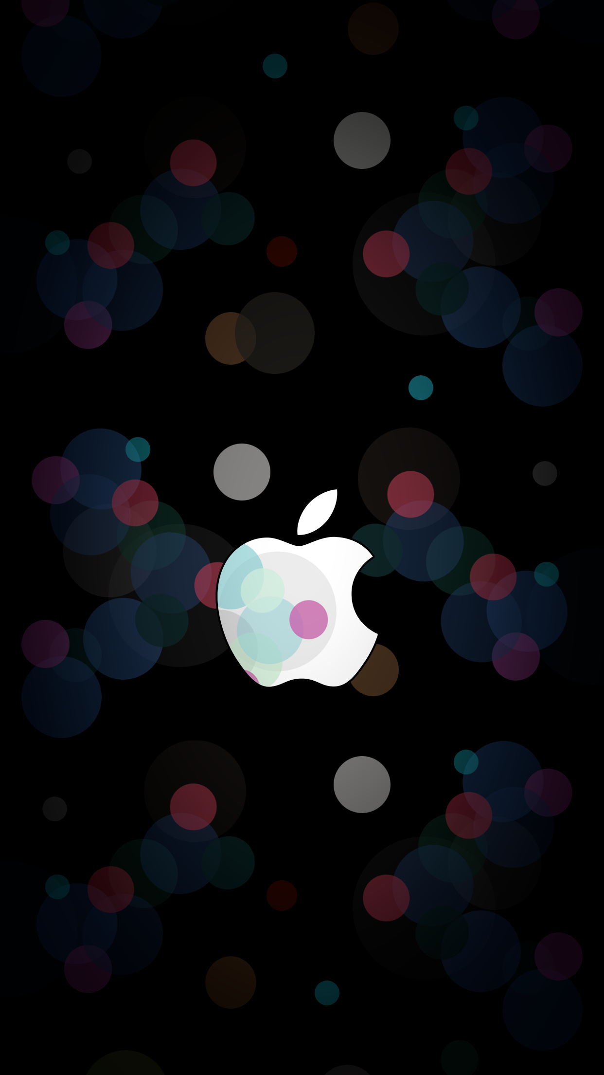 Apple September 7 event wallpaper ar7 inspired logo