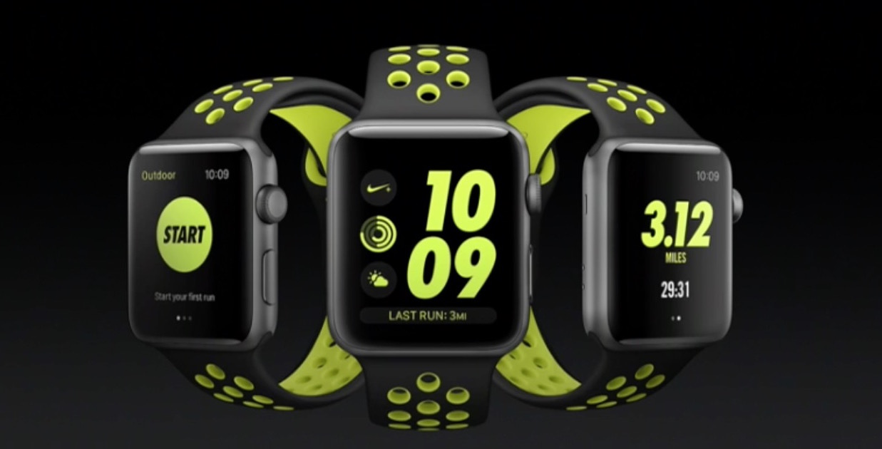 Apple Watch nike plus several
