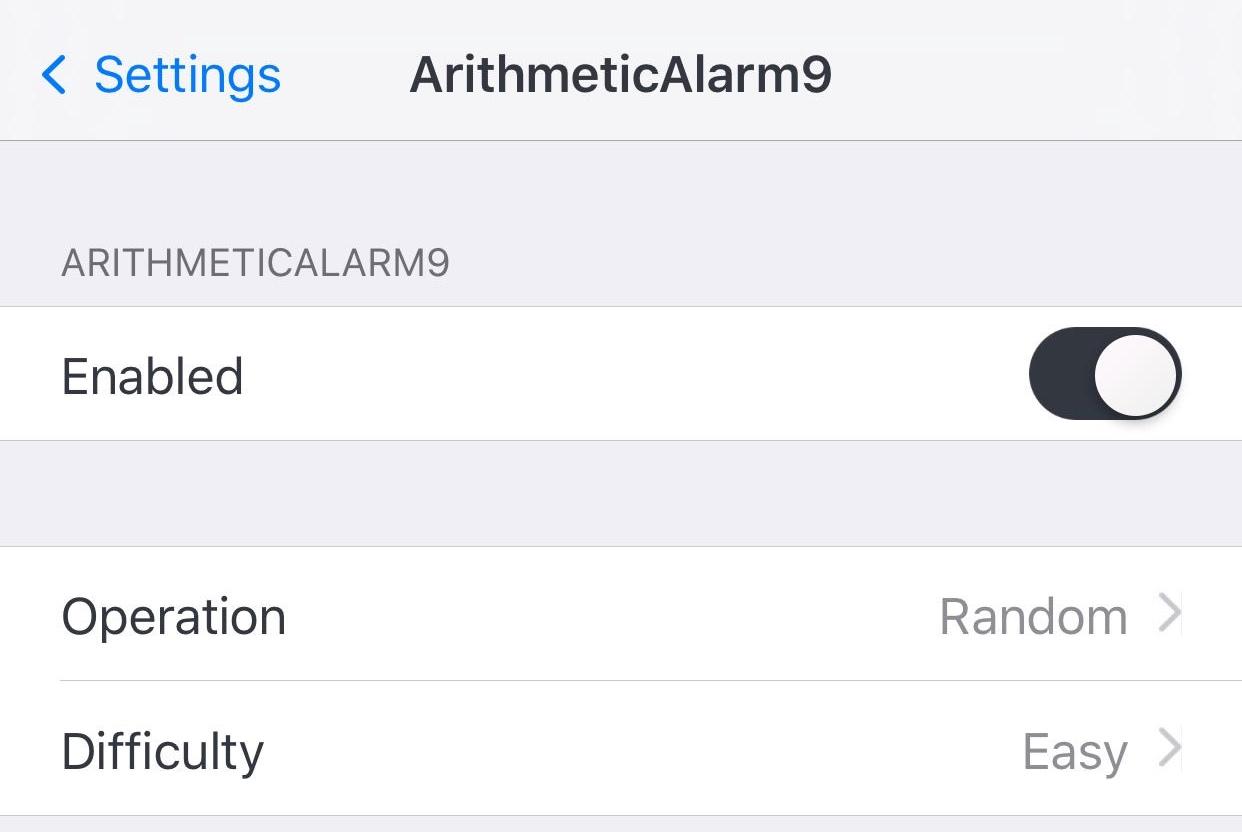 ArithmeticAlarm9 Preferences Pane