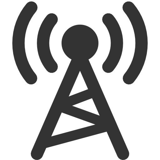 Cellular Radio Tower Icon