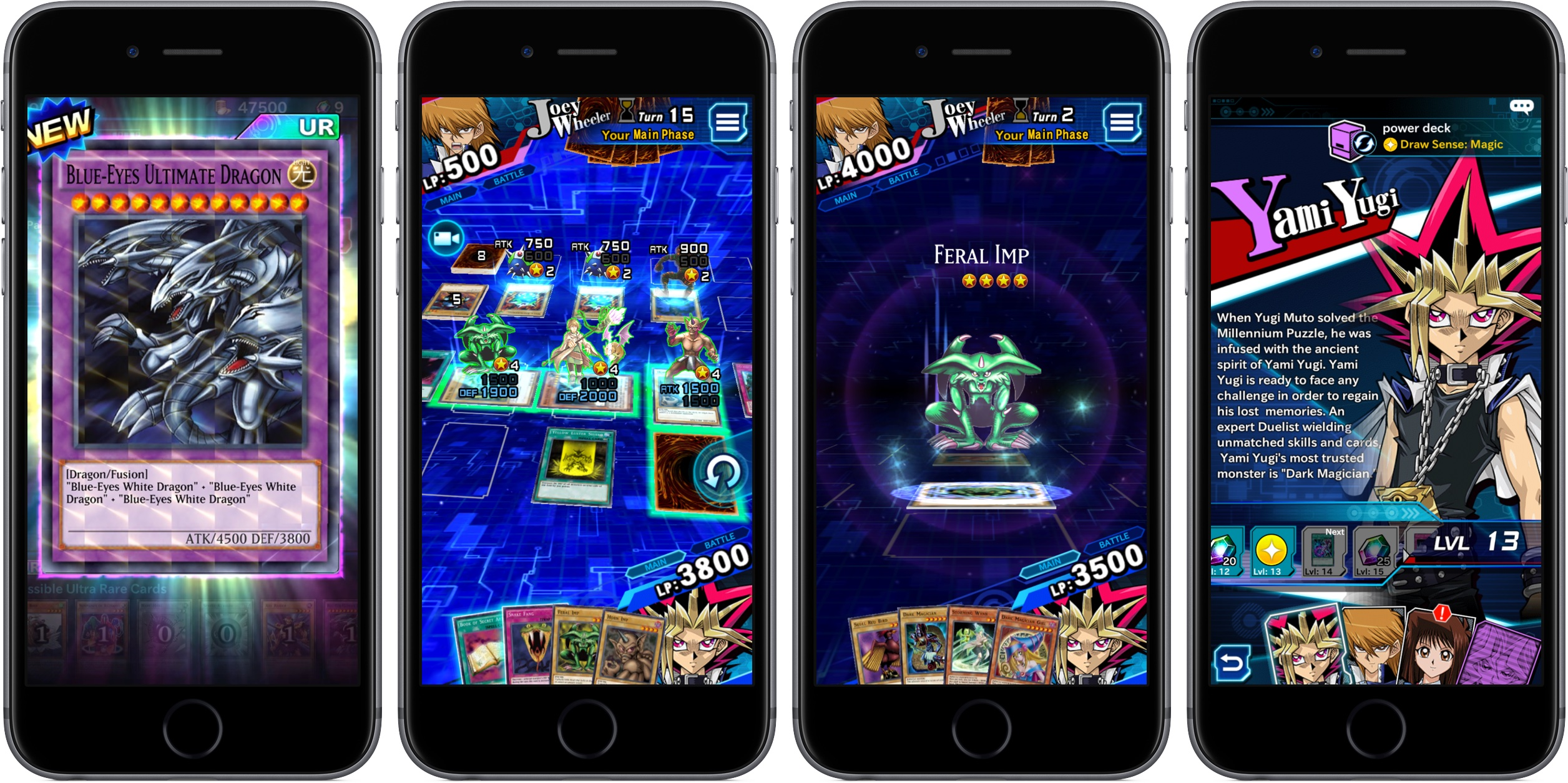 Yu-Gi-Oh Duel Links 1.0 for iOS iPhone screenshot 002