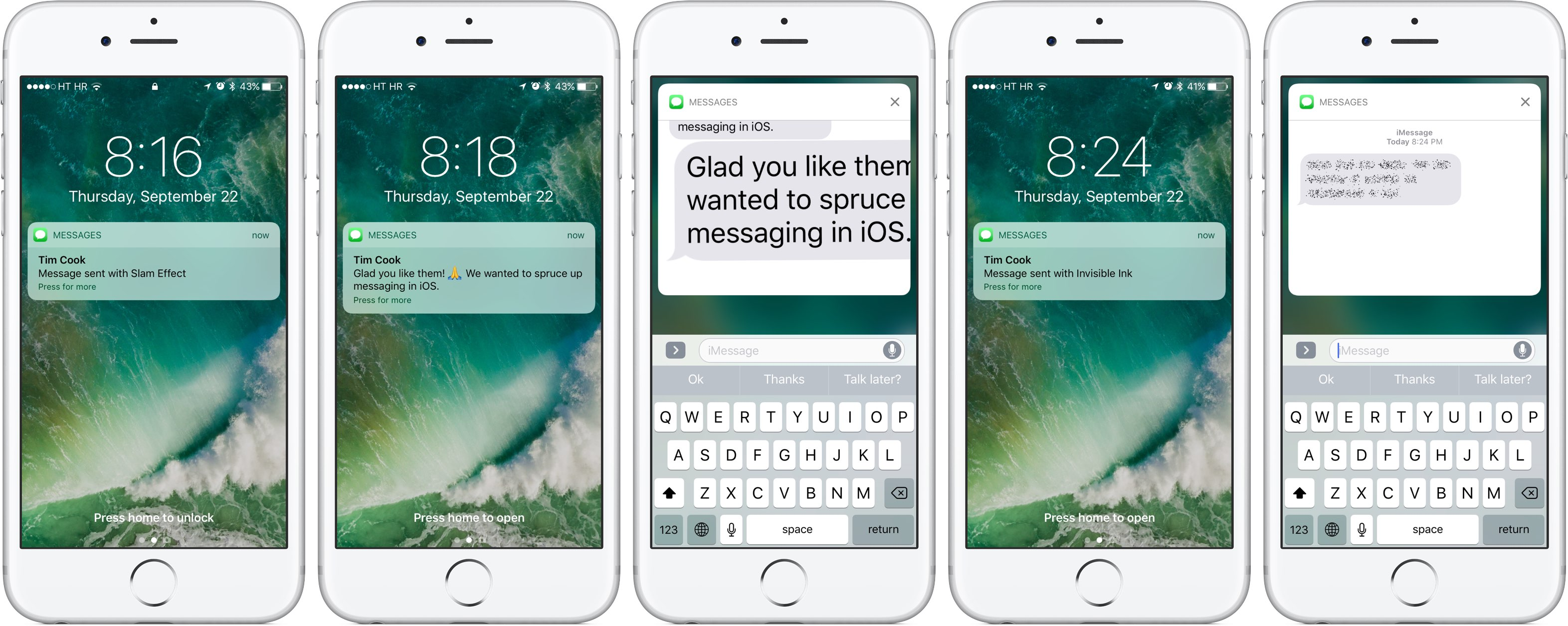 How to use bubble and screen effects in Messages for iPhone