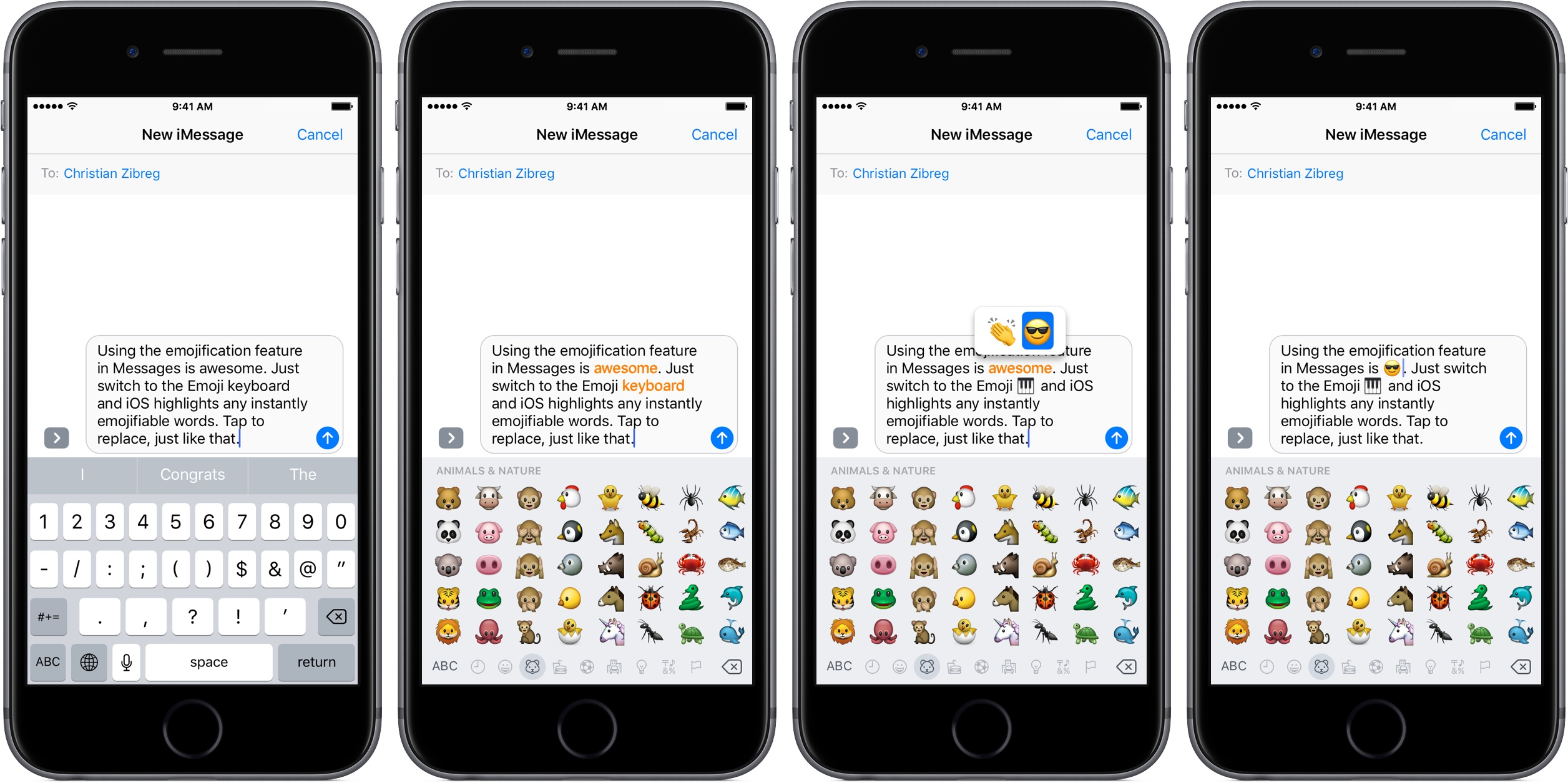 newest d86a2 af223 How to use emoji like a pro in Messages for iPhone and iPad