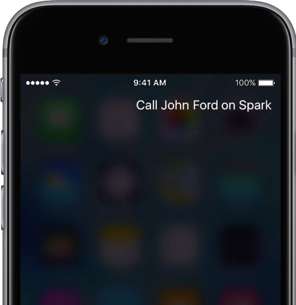 iOS 10 Siri Calling Cisco Spark iPhone screenshot 002