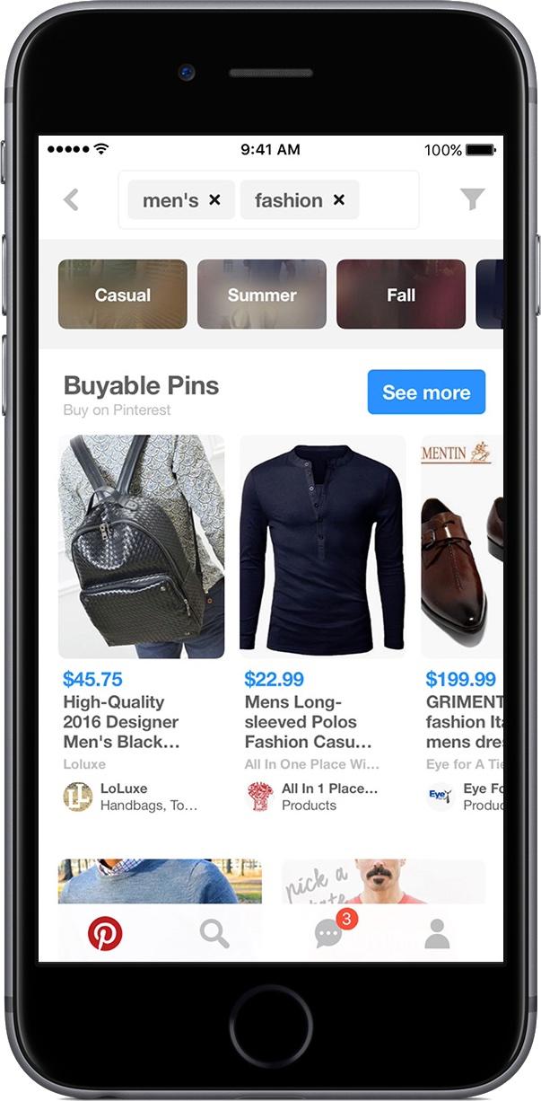 iOS 10 Siri integration photo search Pinterest iPHone screenshot 001