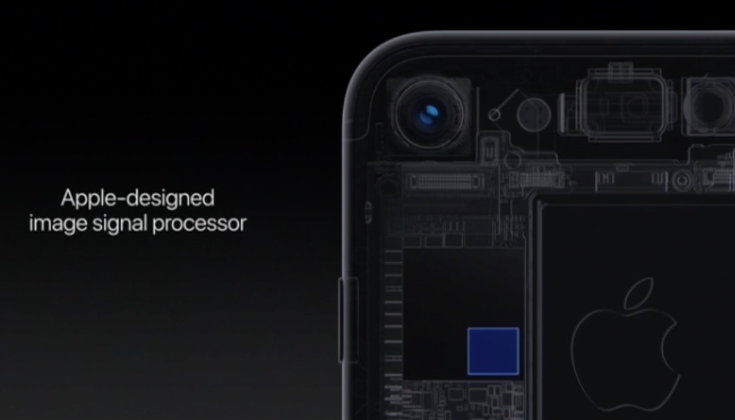 iPhone 7 camera image signal processor