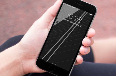 ... iPhone 7 geometric wallpaper