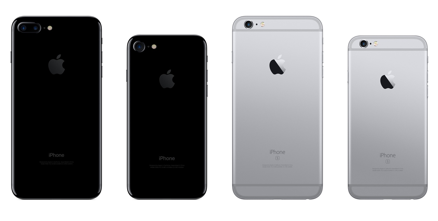 new product ba4eb 938e1 Weight, size, and battery life: iPhone 7 vs iPhone 6s