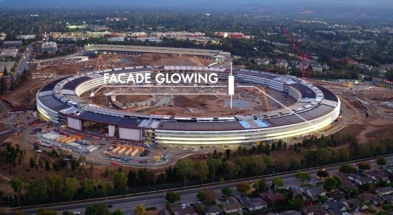 iSpaceship facade glowing image 001