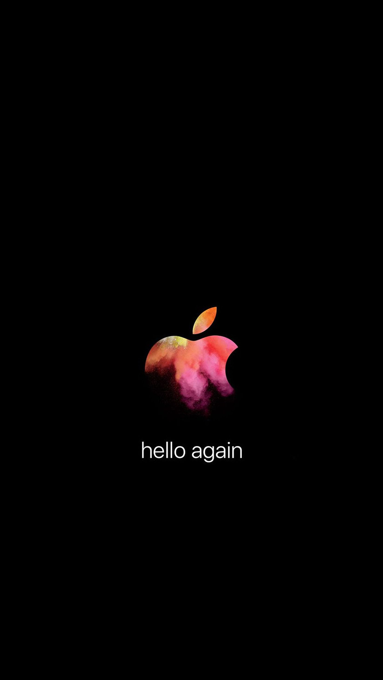 "Apple October 27 event wallpapers: ""hello again""