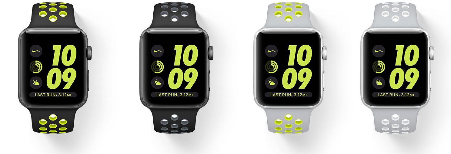 Apple Watch Nike Plus bands