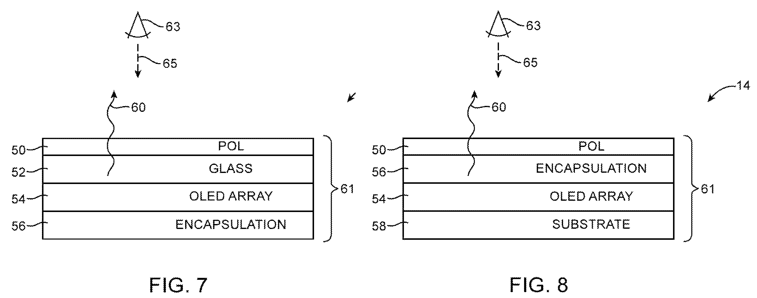Apple patent light sensors embedded into display drawing 003