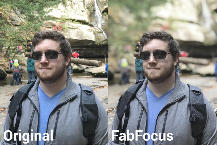 FabFocus In Use Demo