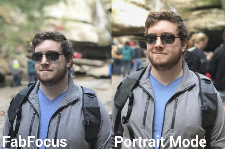 FabFocus vs Portrait Modes