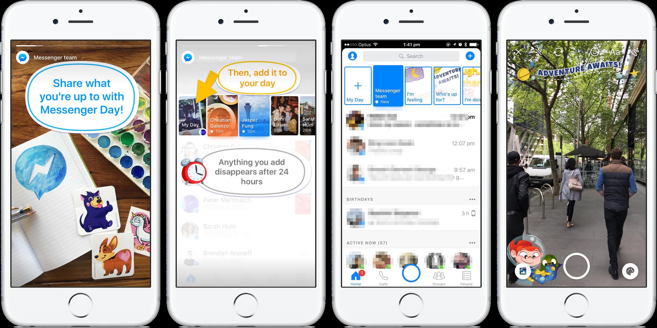 Facebook Messenger Day teaser 001