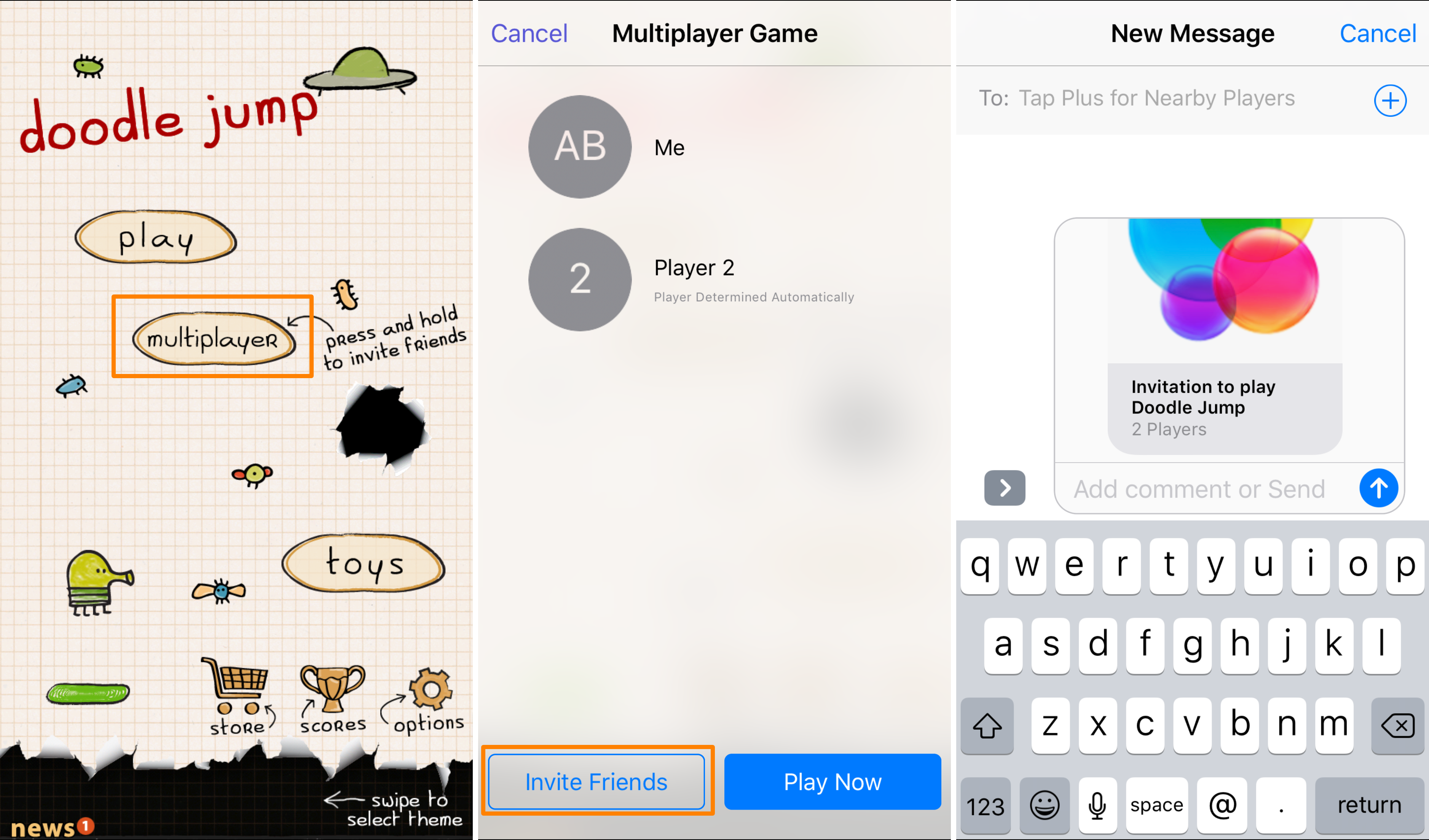 Game Center Multiplayer iOS 10